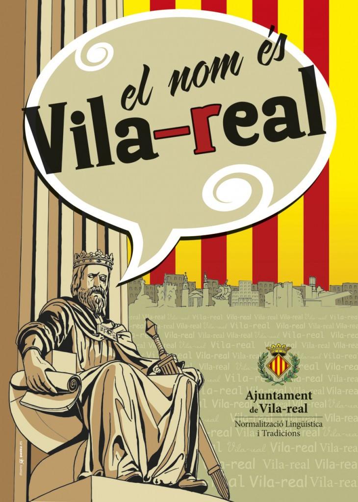 """Ilustraciones y diseño gráfico para la campaña """"El nombre es Vila-real"""""""