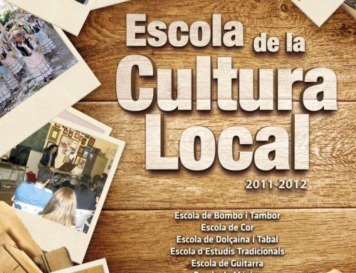 Diseño revista de la Escuela de la Cultura Local