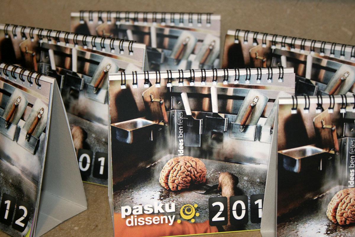 Consigue el calendario de Pasku Disseny 2012