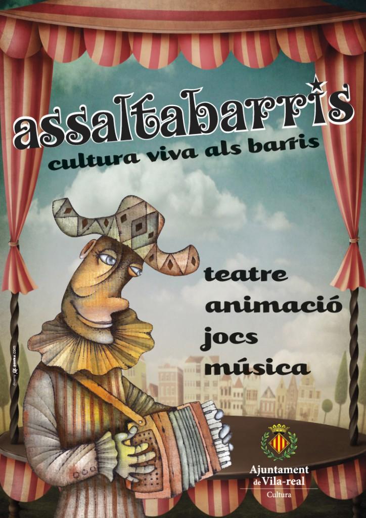 Diseño del cartel Assaltabarris