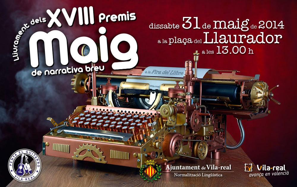 XVIII Premis Maig