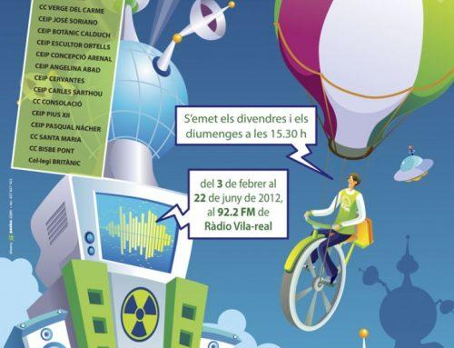 Diseño díptico de Ràdio-Activitat 2012