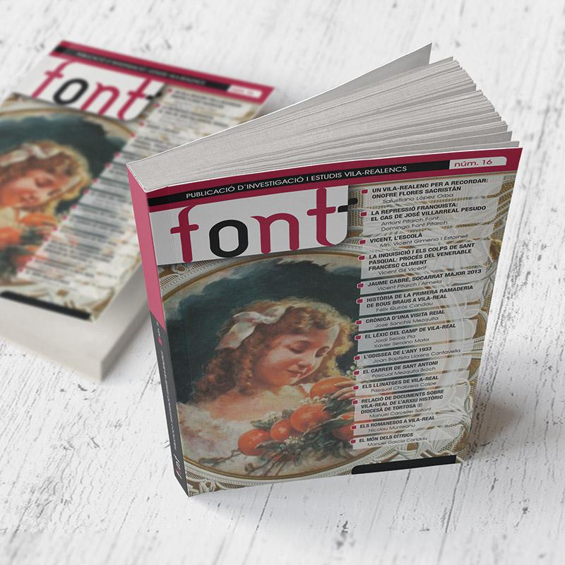 Revista Font 16 (2014)