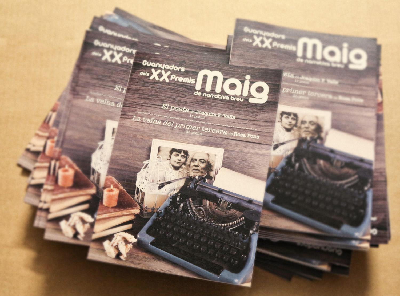 Publicació del premis Maig 2016