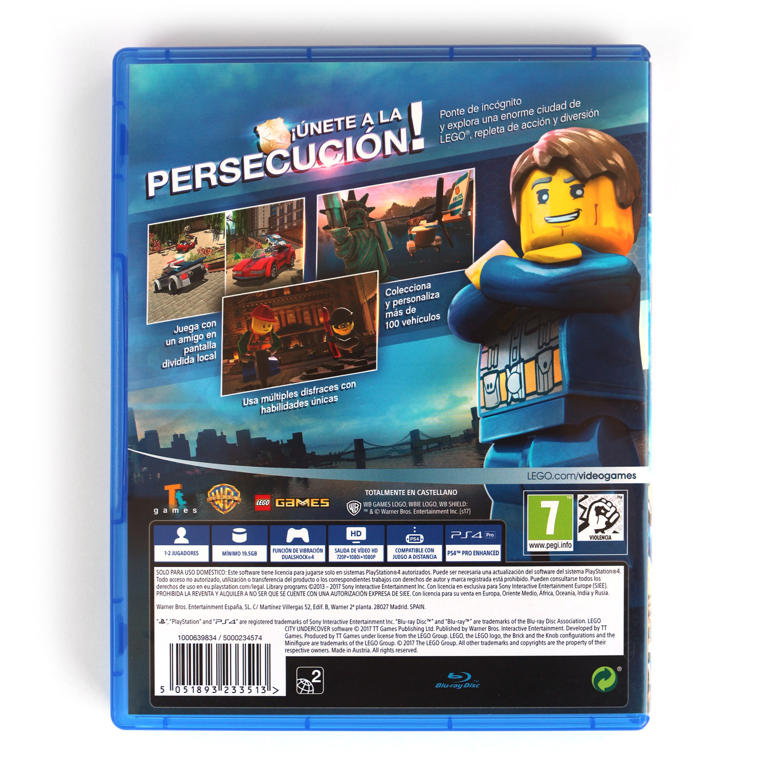 Lego City Undercover Videojuego Playstation 4 Ps4