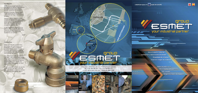 ESMET your industrial partner