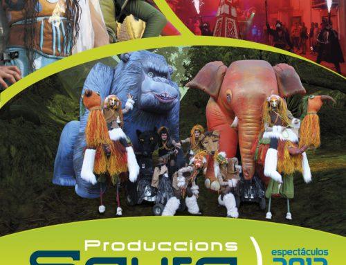 Diseño del catálogo de Producciones Scura 2012