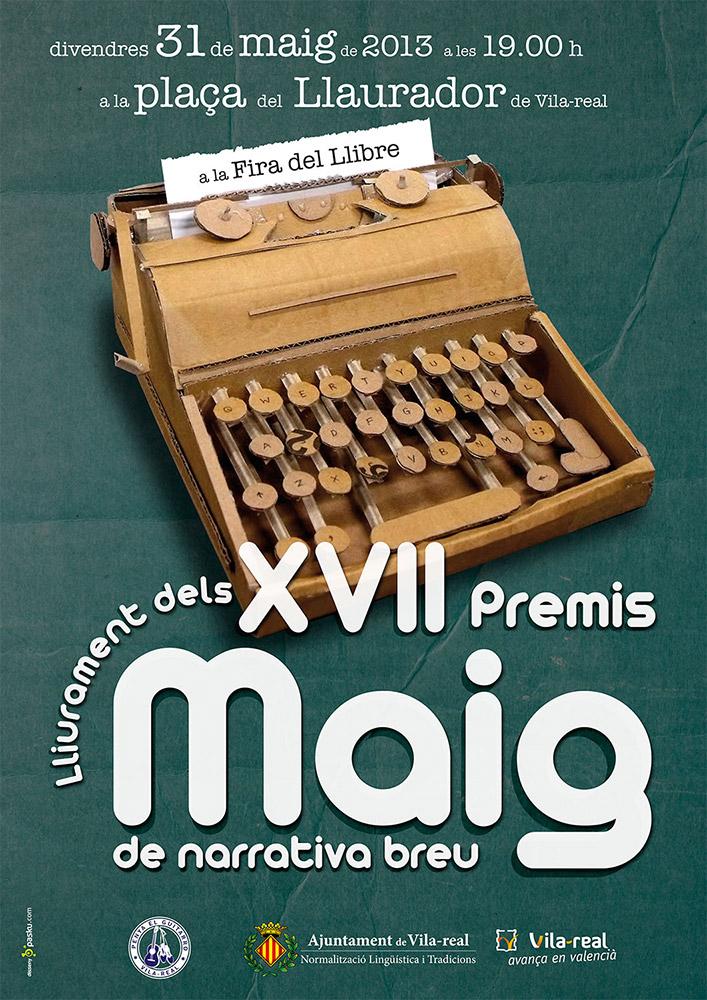 XVII Premis Maig 2013