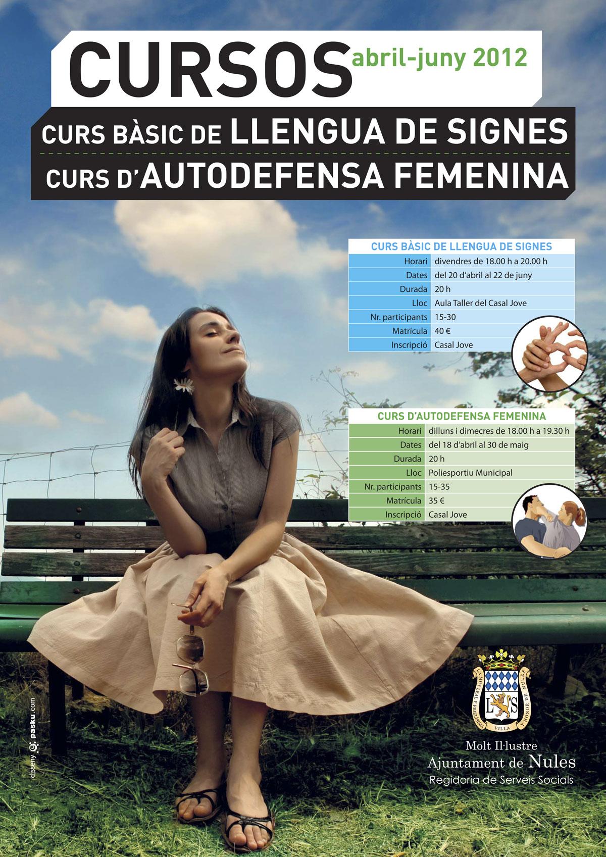 Curs bàsic de LLENGUA DE SIGNES - Curs d'AUTODEFENSA FEMENINA