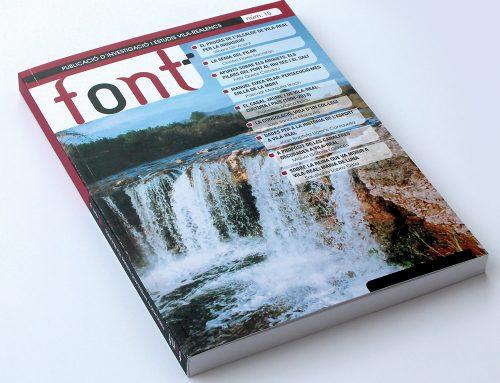 Diseño de la revista Font 15 (2013)