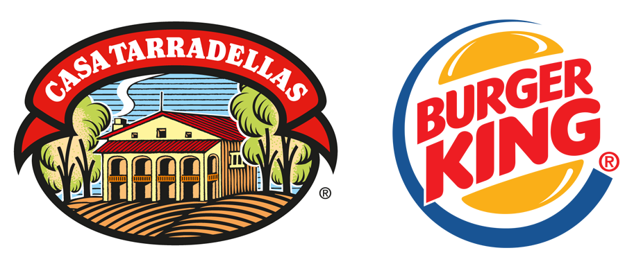 La marcas Casa Tarradellas & Burger King