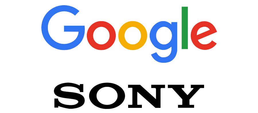 Logotipos de Google & Sony