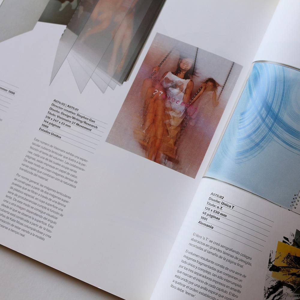 FORMATOS EXPERIMENTALES: Libros / Folletos / Catálogos