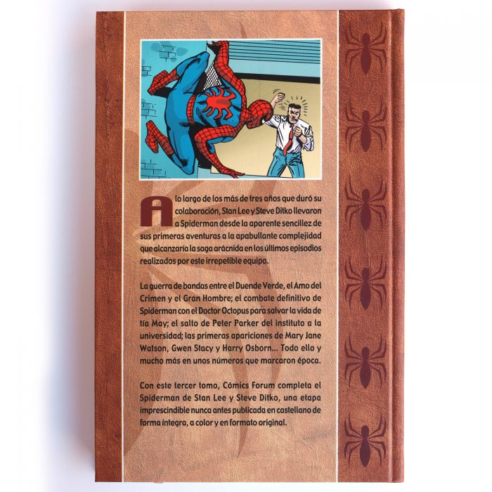 Spiderman de Stan Lee y Steve Ditko vol. 3