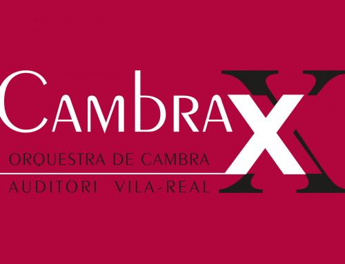 diseño de la marca para «Cambra XX», orquesta de cámara del Auditori de Vila-real