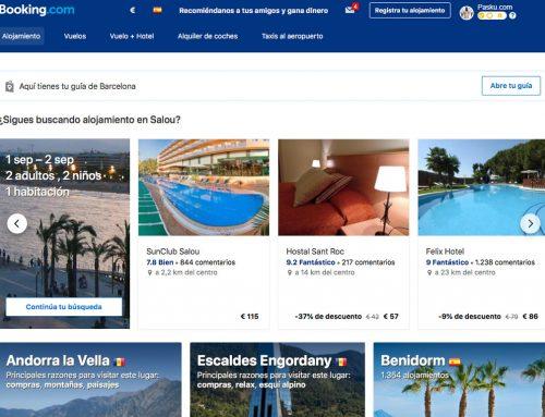 Consigue un 10% de reembolso en Booking.com