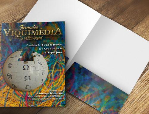 Cartel para las Jornadas Wikipedia en Vila-real