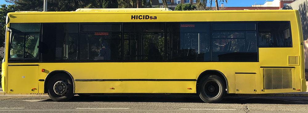 Rotulación del autobús urbano de Vila-real
