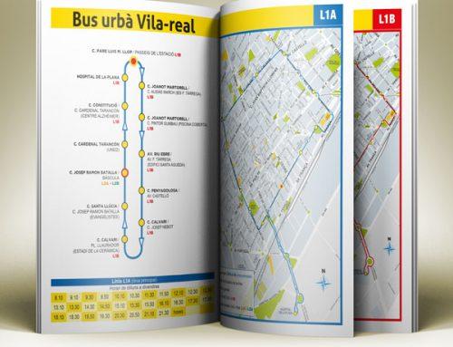 Diseño de la campaña informativa del autobús urbano de Vila-real