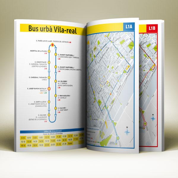 descarga el folleto BUS urbà Vila-real