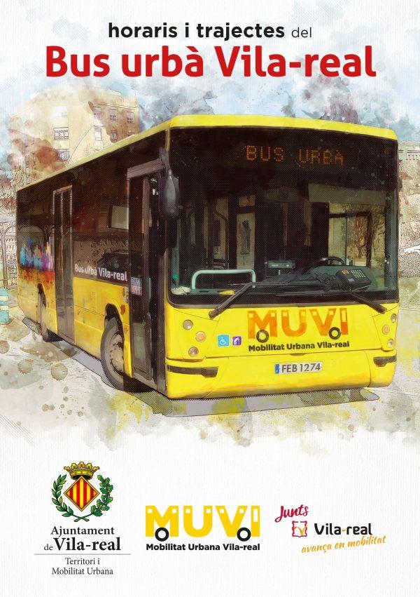 folleto BUS urbà Vila-real 2021