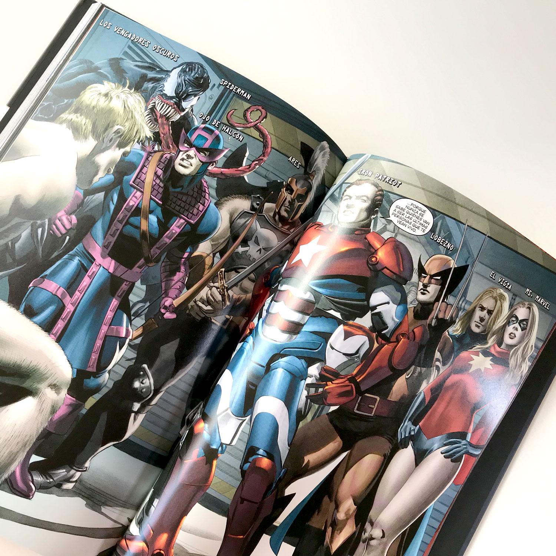 Los Nuevos Vengadores 12, Sin poderes, de Brian Michael Bendis