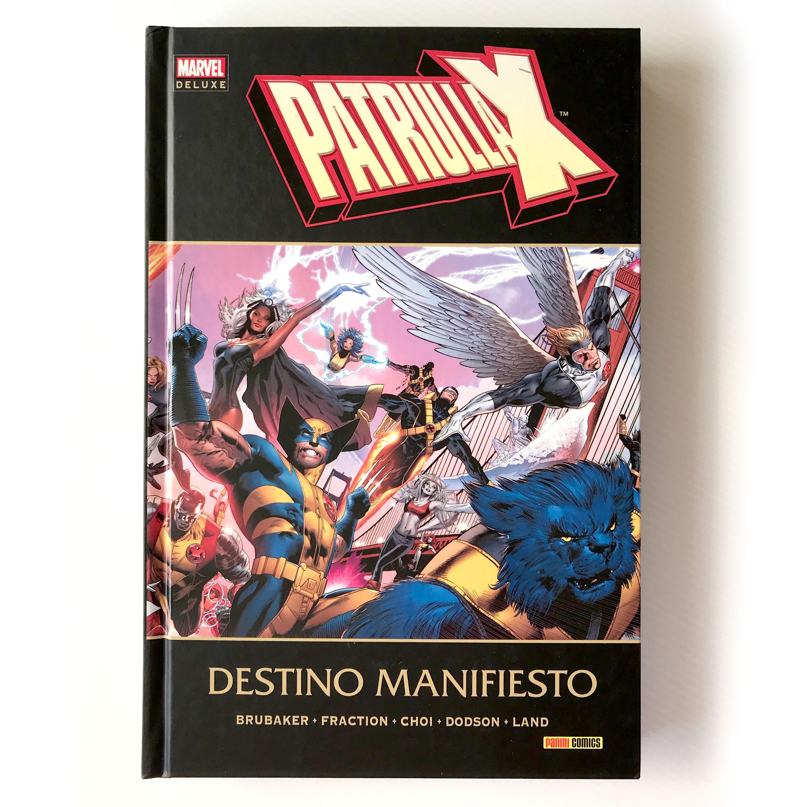 Patrulla-X «Destino Manifiesto» - Marvel Deluxe