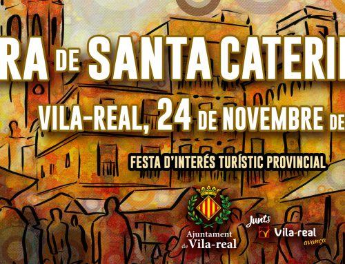 Diseño del cartel de la «Fira de Santa Caterina 2019»de Vila-real
