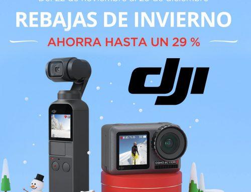 Productos DJI, ofertas de invierno