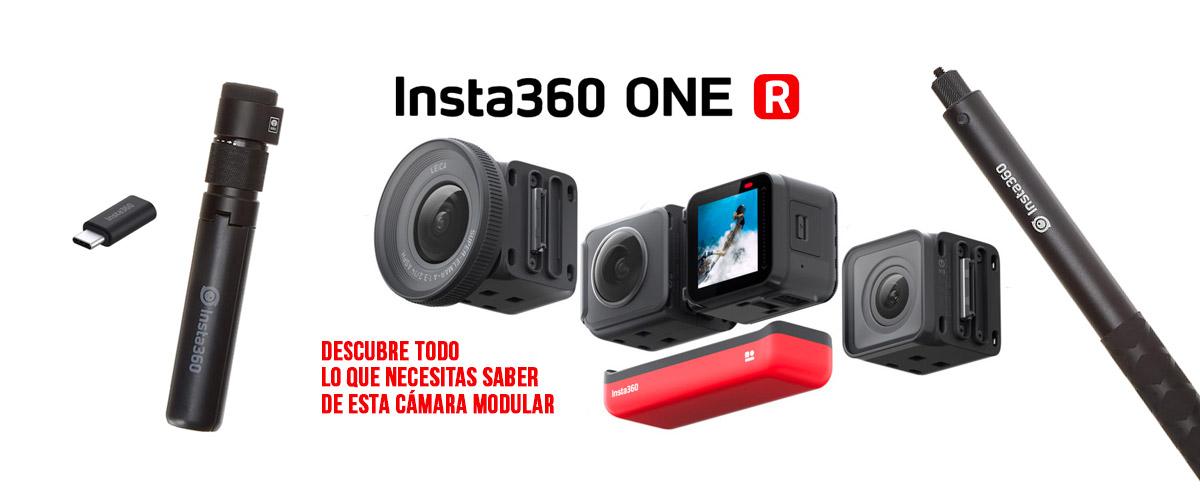 Análisis Insta360 ONE R