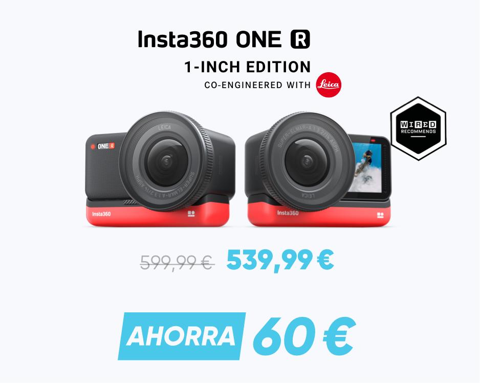 Promoción Insta360 ONE R