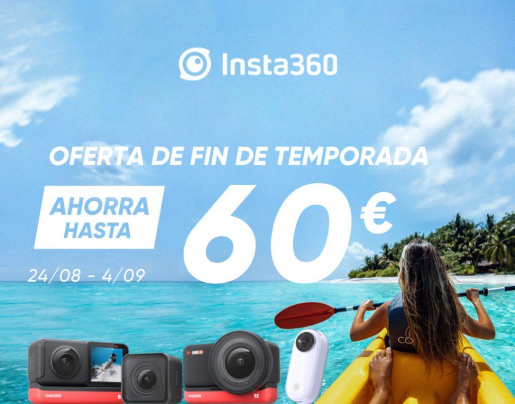 Oferta fin de temporada de verano Insta360
